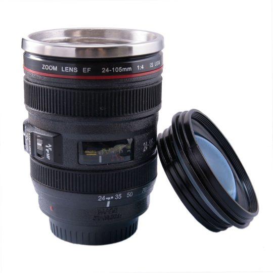 Mug/Tasse en forme d'objectif photo