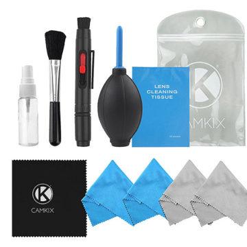 Kit complet pour le nettoyage du matériel photo.